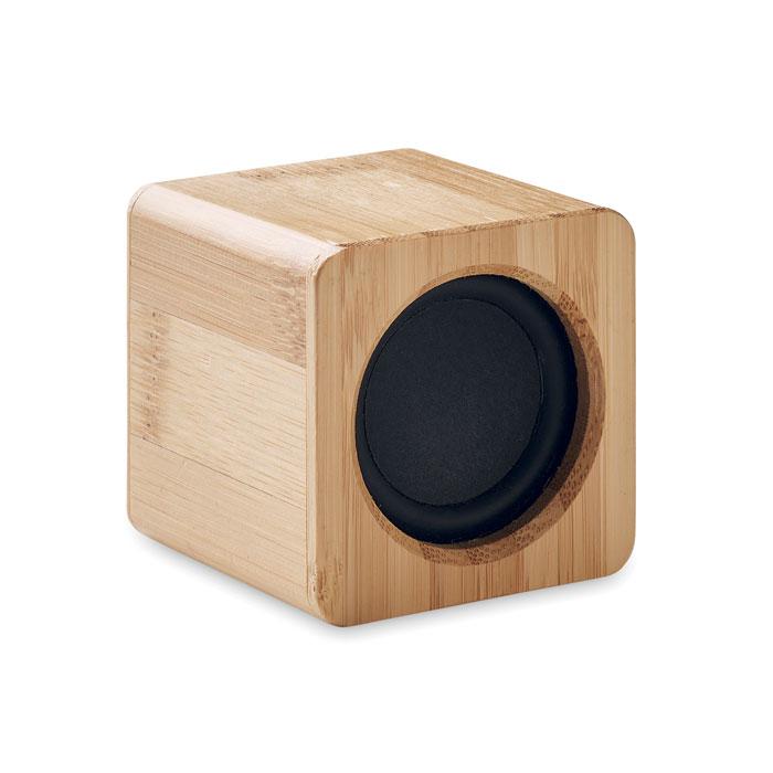 AUDIO Bambusz vez. nélküli hangszóró