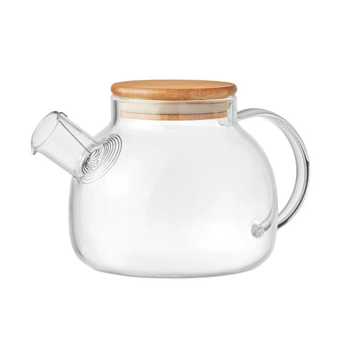 MUNNAR Teapot in borosilicate glass